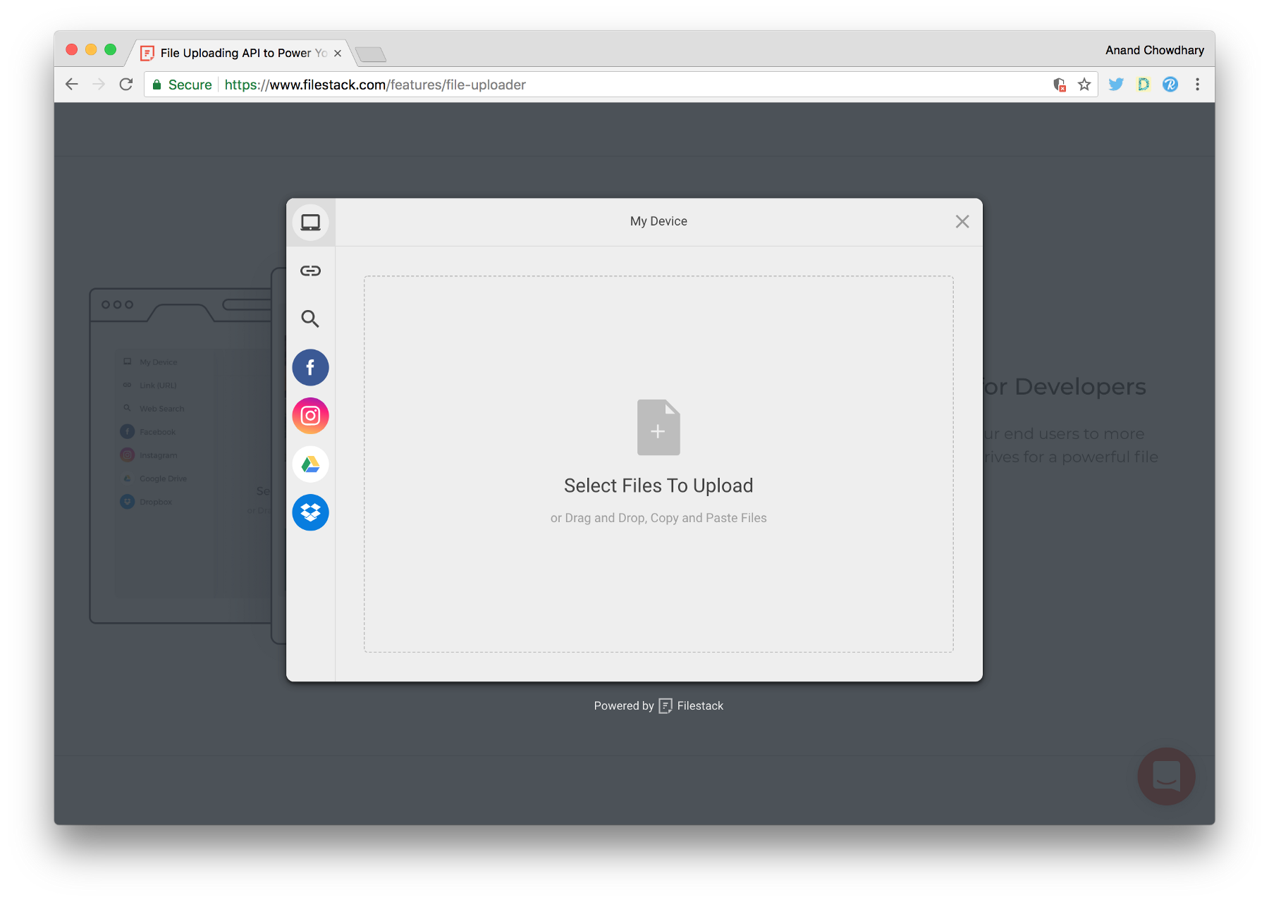 Building a better file uploader for the web | Michael Angelo